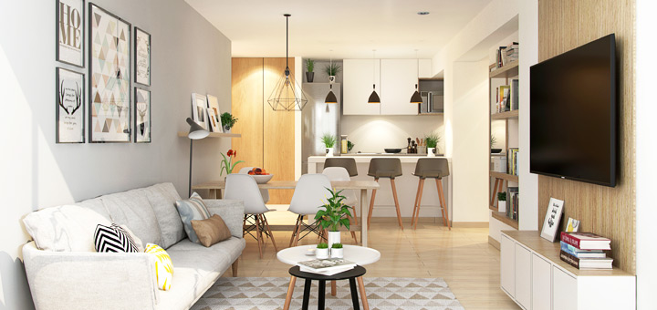 triada aprovechar espacios departamento pequeno