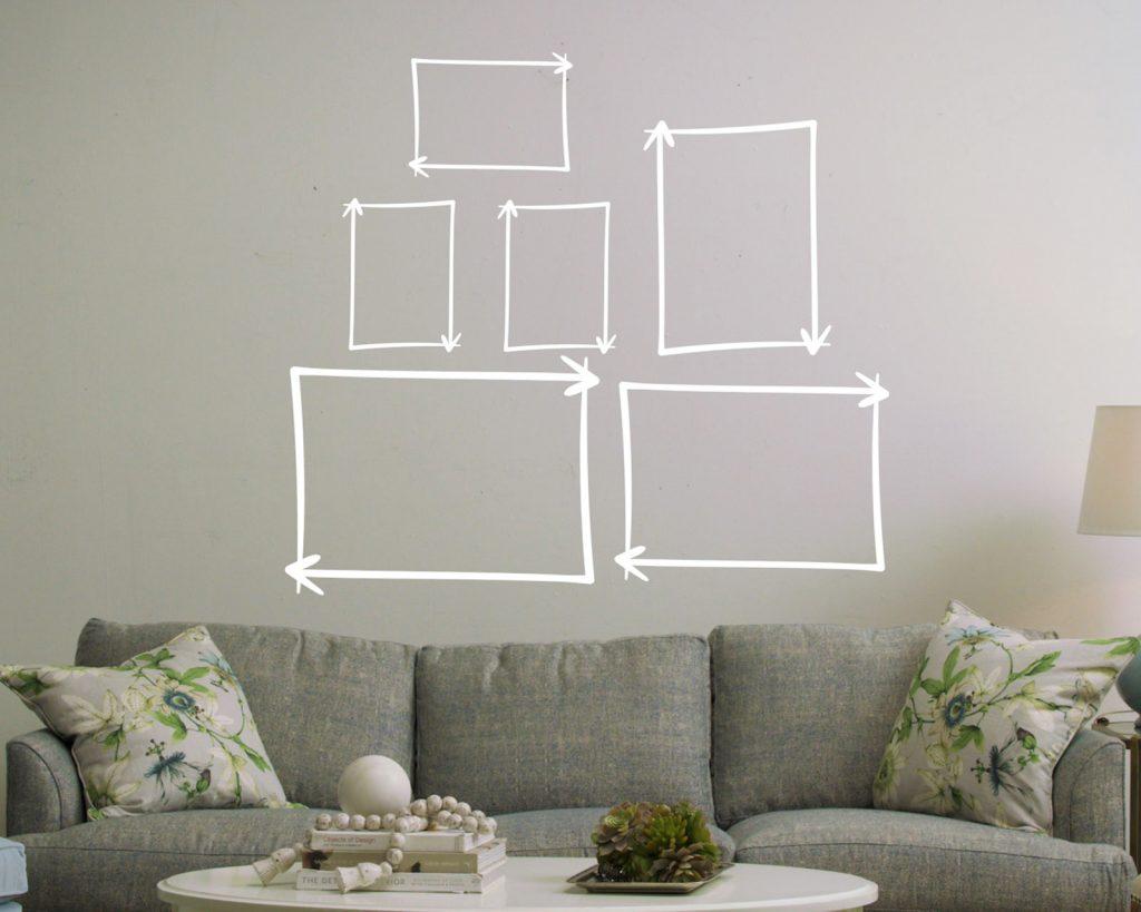 ideas creativas decorar departamento organiza antes de colgarlos