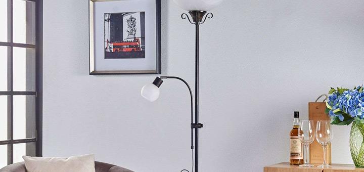 ideas iluminacion departamento lamparas pie