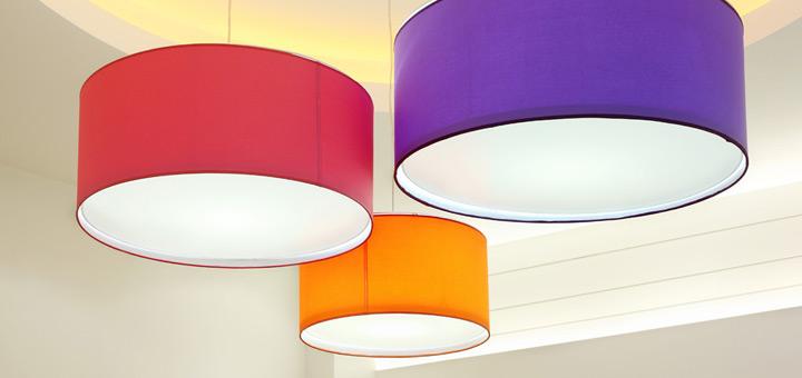 ideas iluminacion departamento pantallas lampara