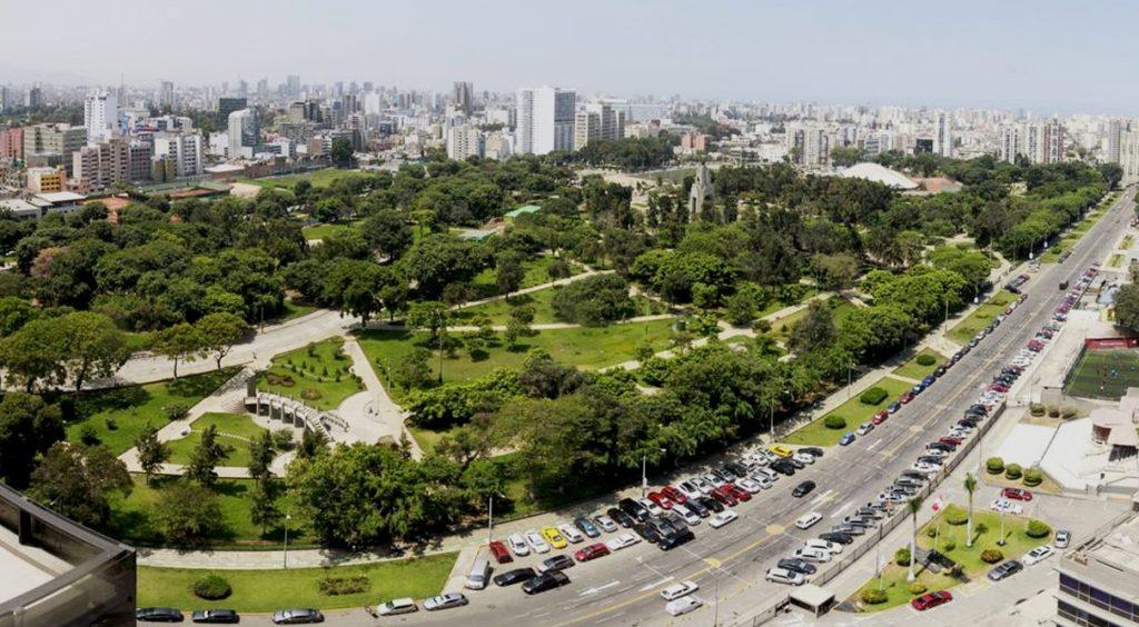 jesus maria distritos areas verdes campo marte